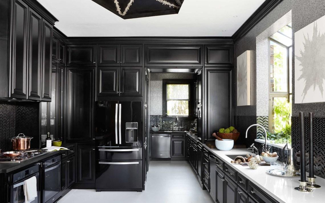 Stunning Black Kitchen Ideas Dcor Aid
