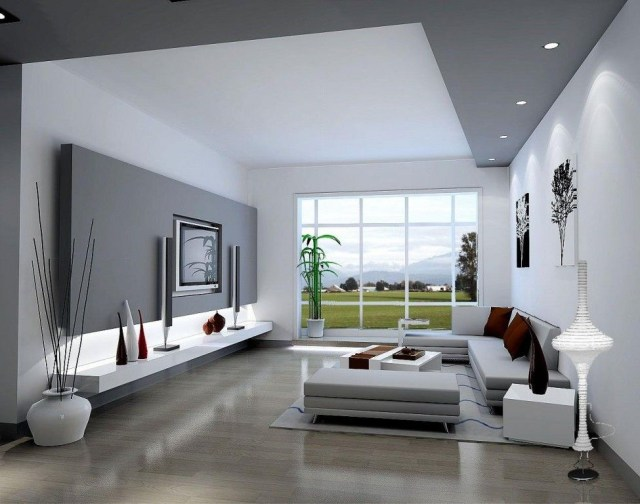 Stunning Living Room Interior Design With Amazing Led