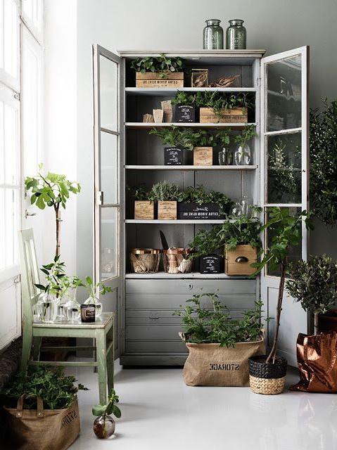 Stylish Storage Garden Room Indoor Garden Home Decor