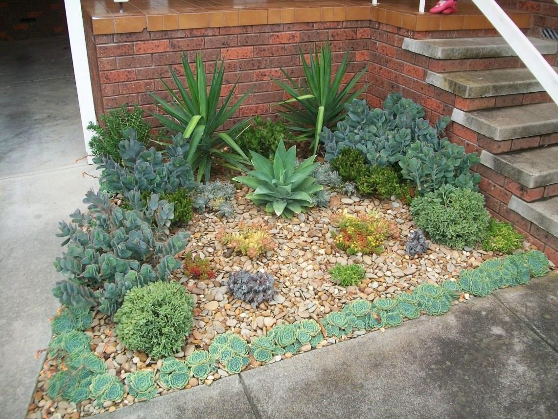 Succulent Garden Designs Succulent Garden Bed I Created