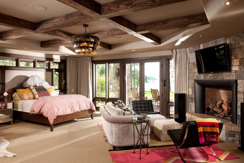 Suite Dreams Timber Home Master Bedroom Design