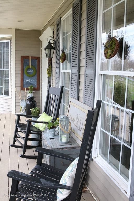 Summer Front Porch Decorating Summer Front Porches