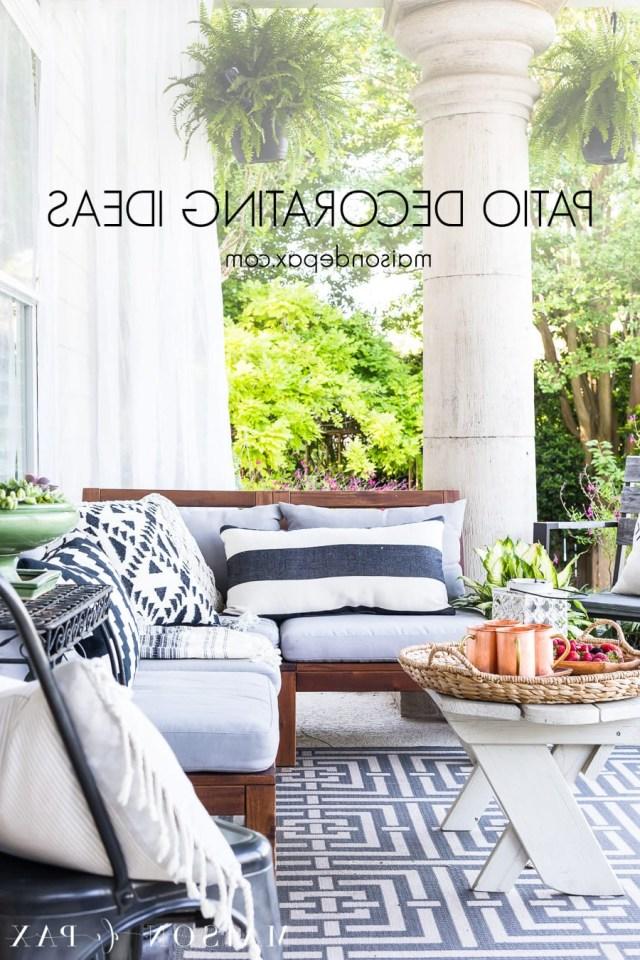 Summer Porch Decor Ideas Ferns And Succulents Maison De Pax
