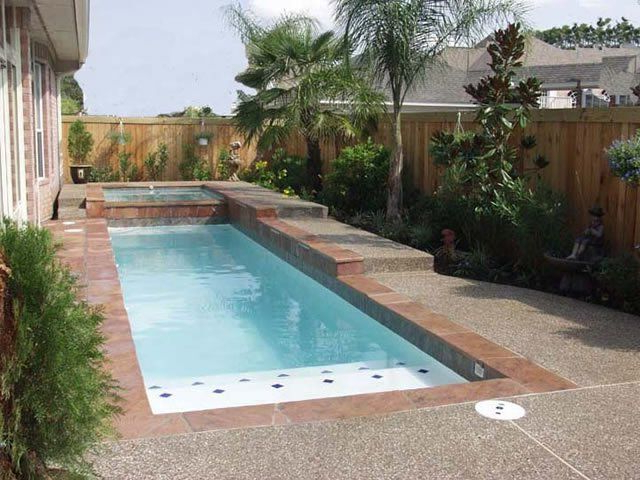 Swimming Pool For Small Backyard Katy Texas Custom Pool