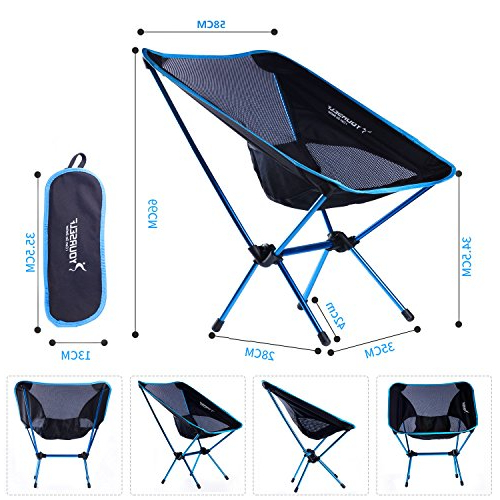 Syourself Portable Folding Camping Chair Lightweight