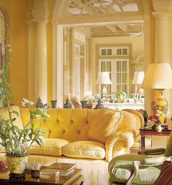 Tabulous Design Being Mellow With Yellow