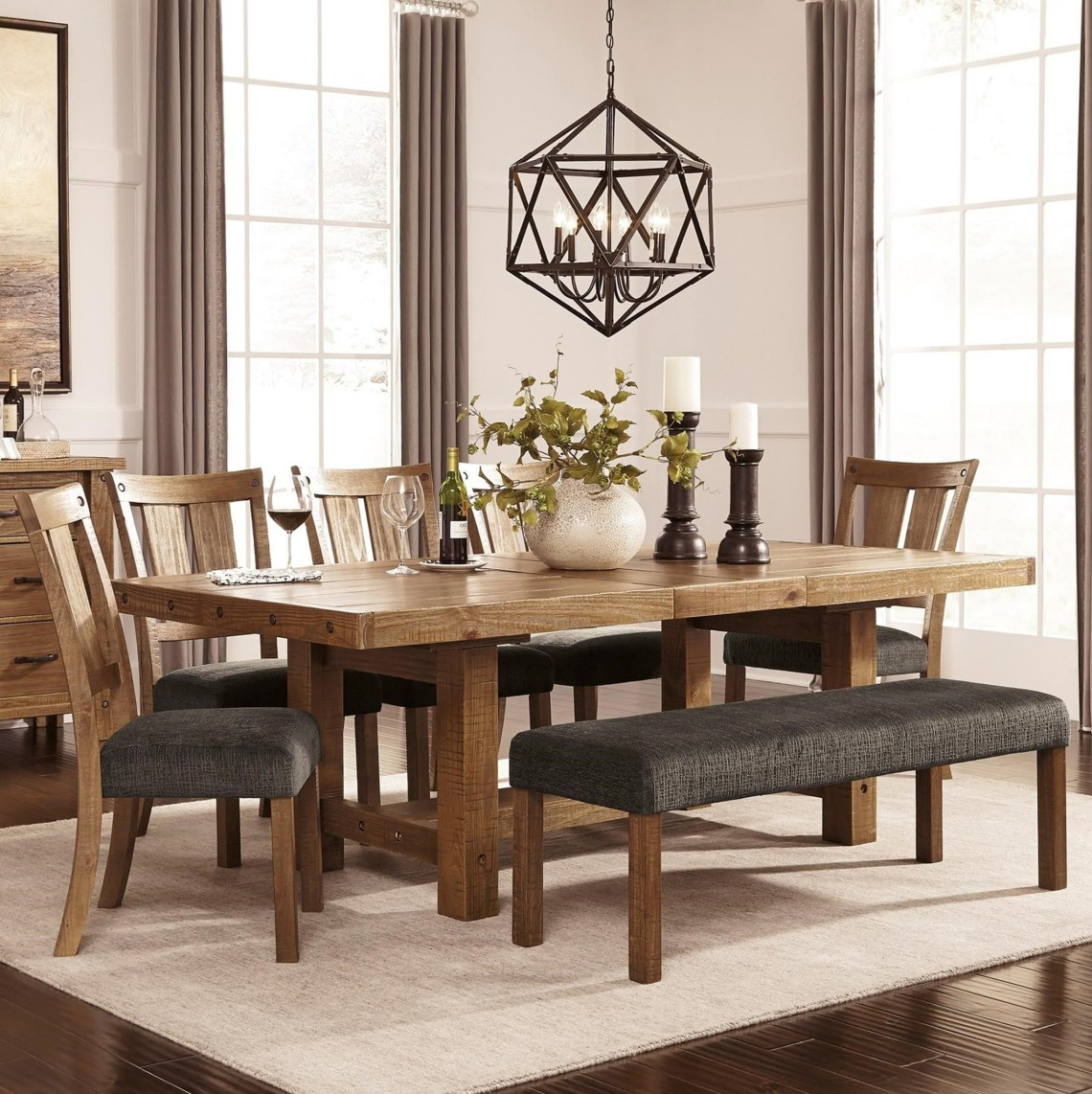Tamilo 7 Piece Table Chair Set Pappery
