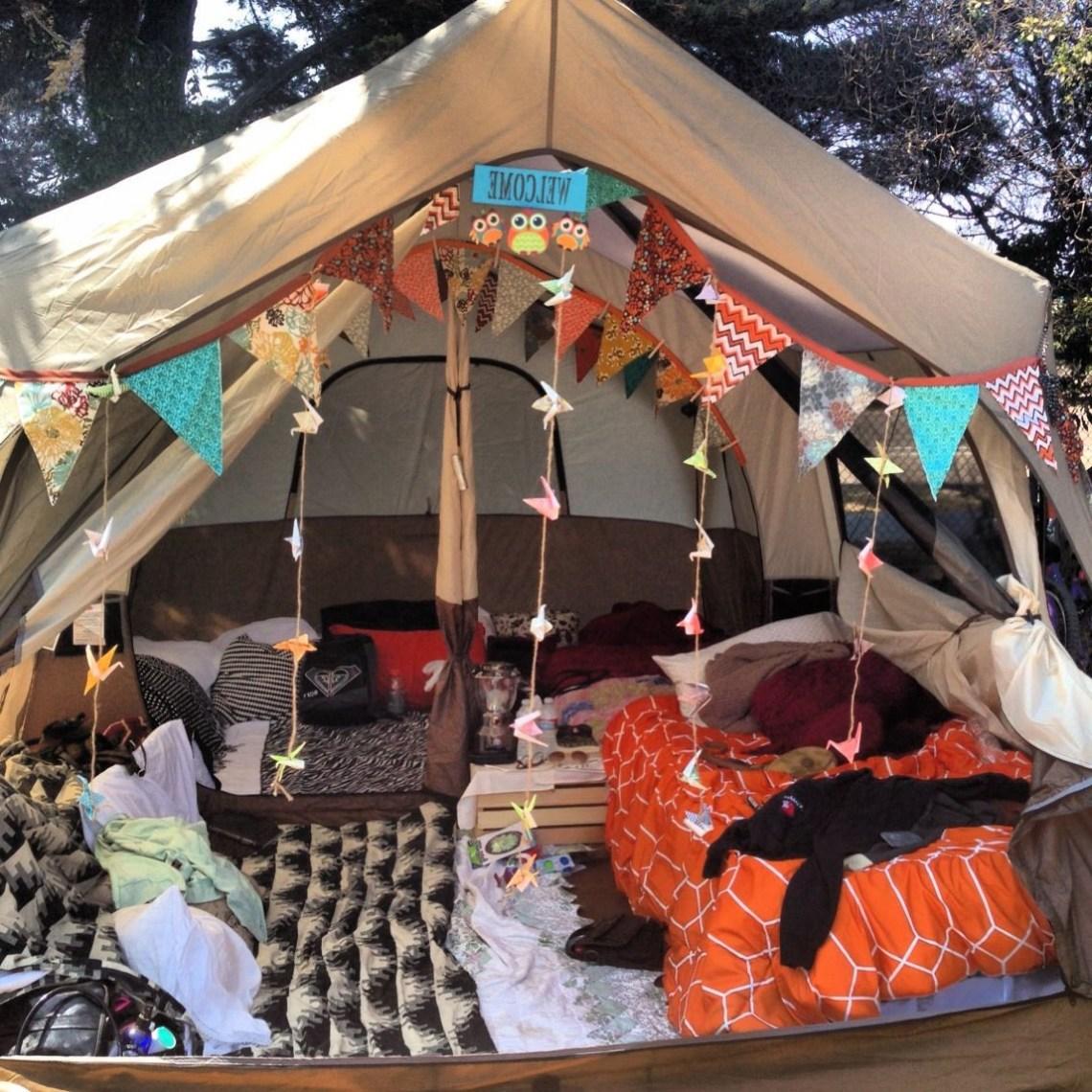 Tent Glamping Festival Camping Setup Coachella Camping