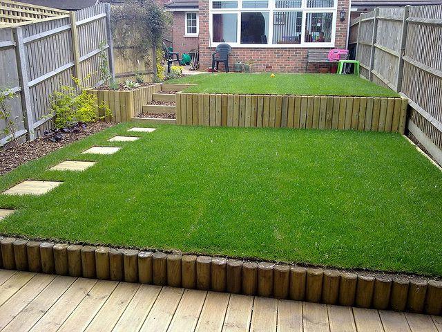 Terracing A Sloping Garden Sloped Garden Sloped