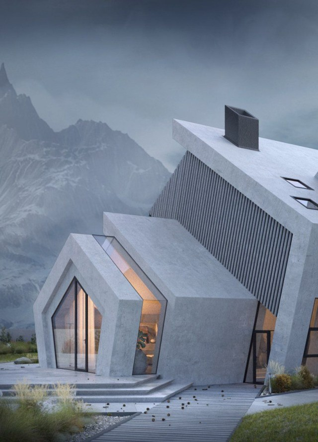 The Concrete Pentahouse Wamhouse Is Inspired The