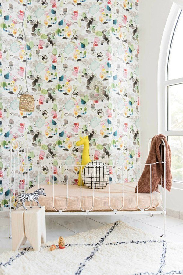 The Cutest Wallpapers For Your Childs Room Girl Room