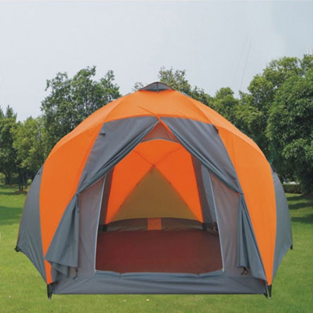 The Large Outdoor Camping Tent Double Multiplayer 8 10 Person Tent Camping Tent Yurt In Tents