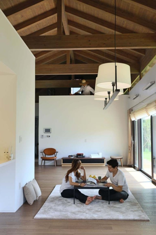 These Traditional Korean Homes Received A Modern Makeover Home Design Living Room Modern Home