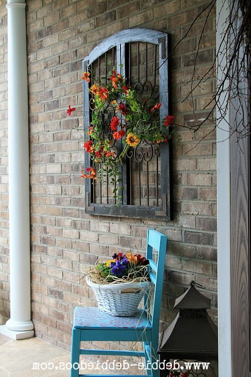 Thrifty Makeovers Take 2 Porch Decorating Front Door