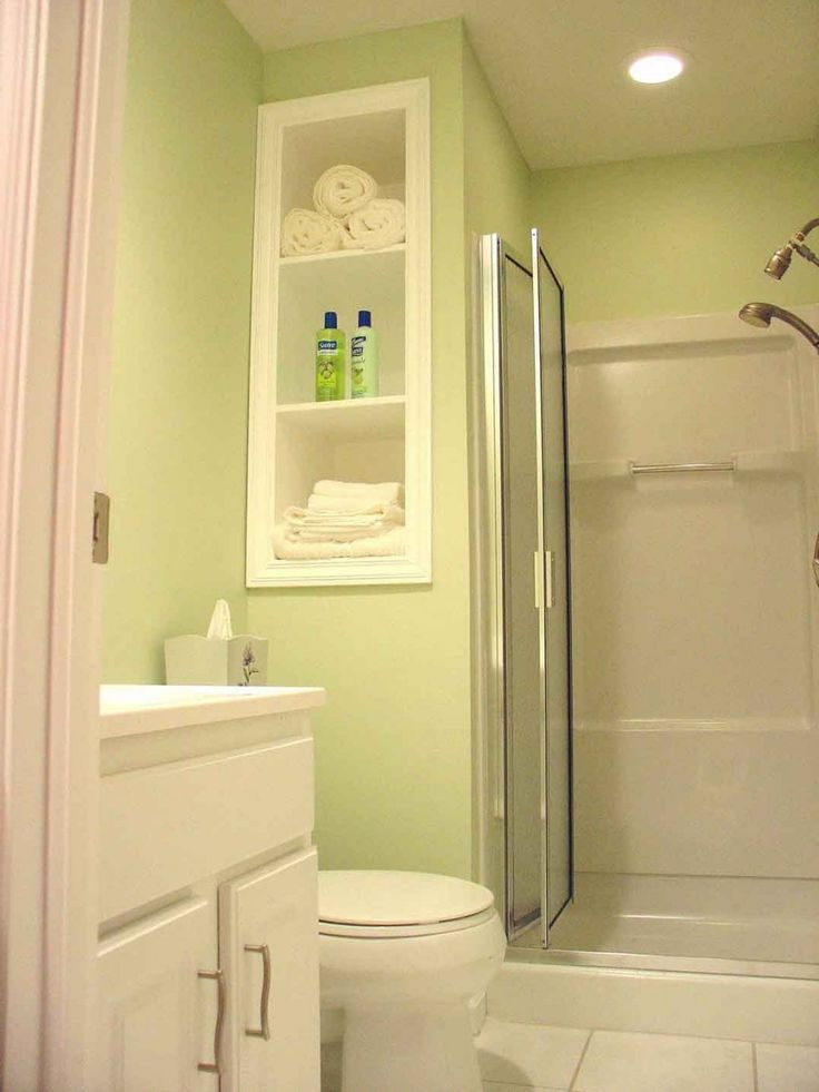 Time For Recess How To Create Shelf Space Between Studs Modern Bathroom Design Bathroom