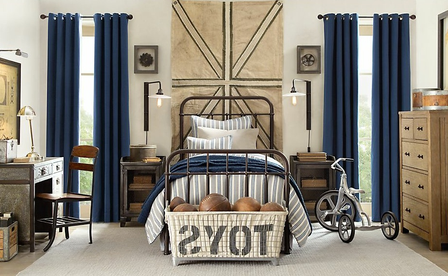 Tips How To Decorate Boys Bedroom Ideas Looks Vintage With