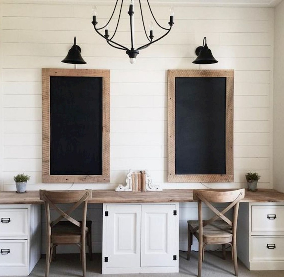 Top 10 Gorgeous And Cozy Vintage Farmhouse Office Decor