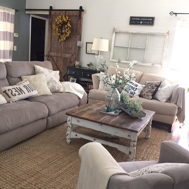 Top 11 Incredible Cozy And Rustic Chic Living Room For