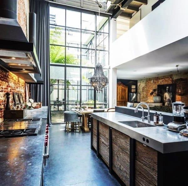 Top 50 Best Industrial Interior Design Ideas Raw Decor