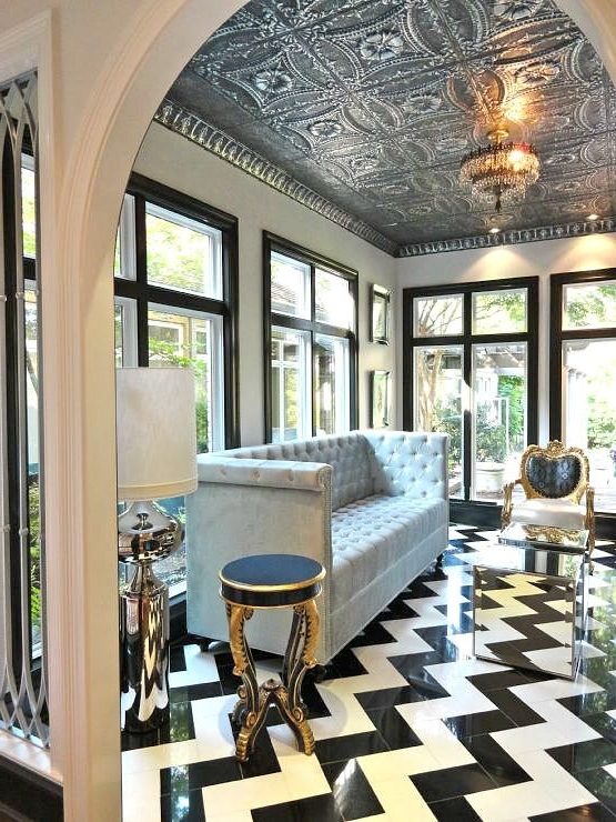 Trend Alert How To Decorate Your Home With Ceiling Tiles