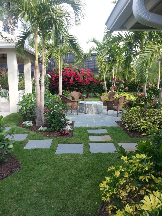 Tropical Backyard Ideas For Beautiful View 507 Garden Ideas