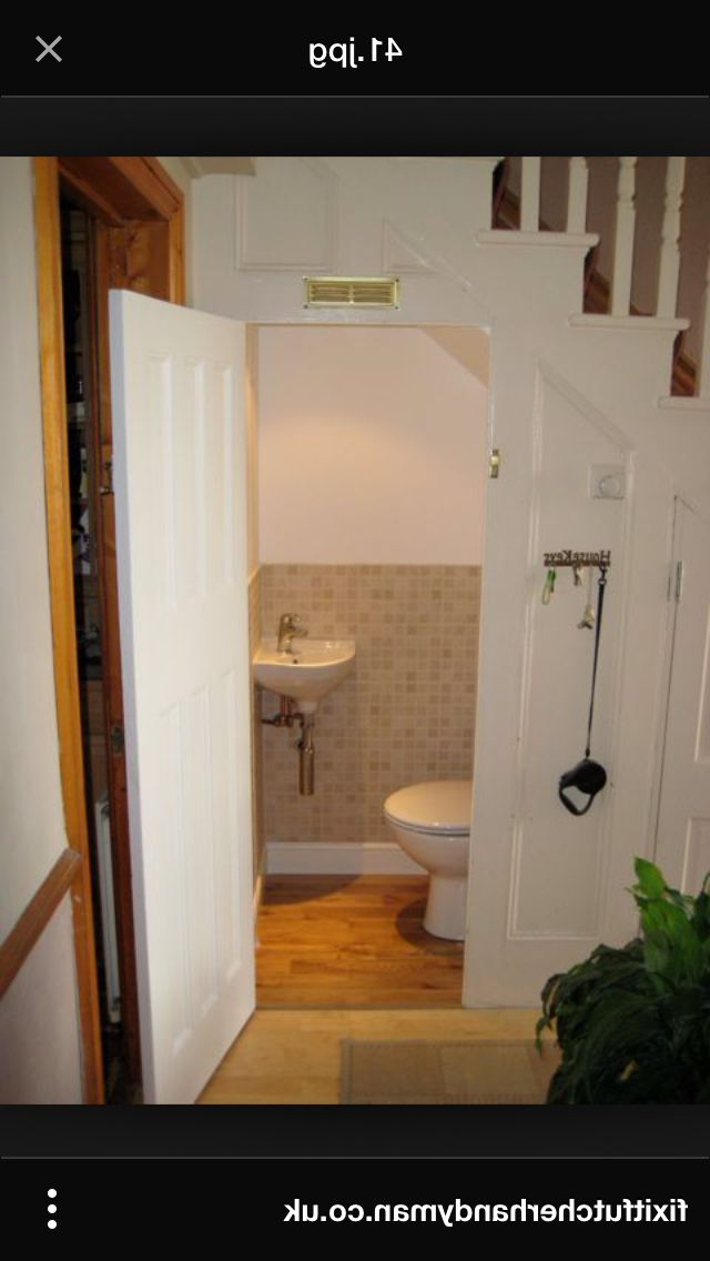 Under Stairs Toilet Bathroom Under Stairs Room Under