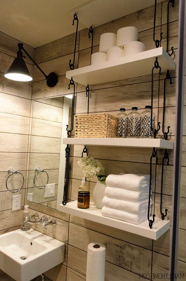Unique Storage Ideas For A Small Bathroom Small Bathroom