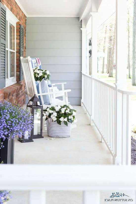 Use These Small Front Porch Ideas To Make Your Outdoor
