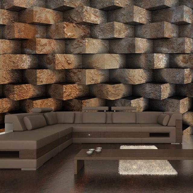 Wallpaper Brick Braid In 2020 Living Room Paint