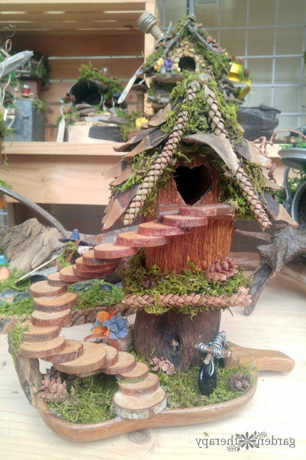 Whimsical Foraged Fairy Houses You Would Think Were