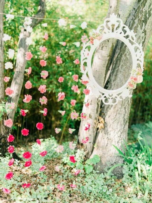 Whimsical Garden Inspired Bridal Shower Garden Bridal