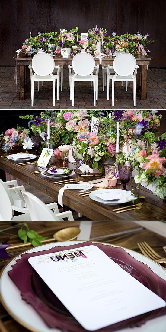 Whimsical Outdoor Wedding Inspiration Garden Wedding
