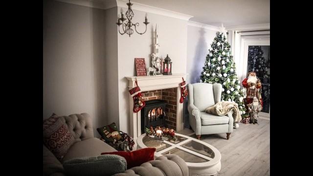 Wonderful Christmas Diy Makeover Room Decorating Ideas