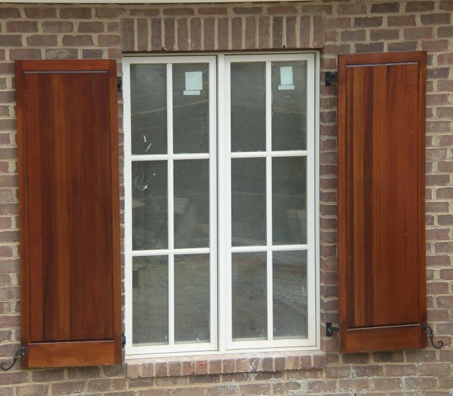 Wonderful Exterior Window Shutters To Enhance The