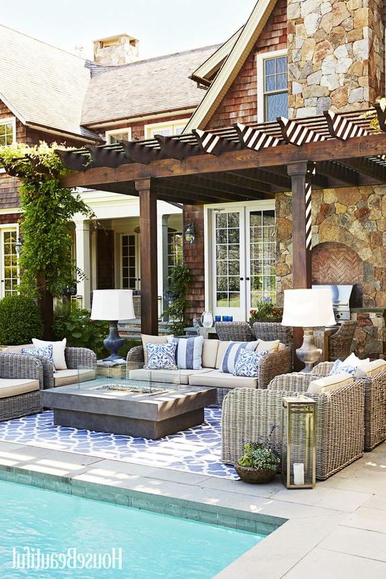 Your Coastal Retreat Pool Pavilion Decor Ideas Cottage