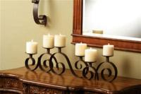Fireplace Candle Holder Insert - HOME DECOR NOW