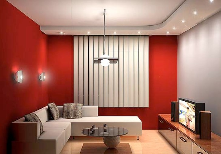 Decorate Living Room Ideas With Warm Color