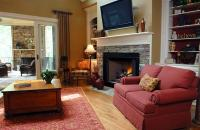 Tips To Decorate Living Room With Corner Fireplace