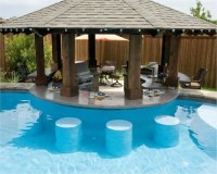 Build an Attractive Backyard Pool Bar by Your Self | Home ...