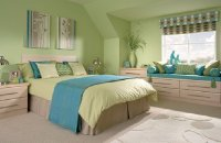 Light Blue and Green Bedroom Ideas