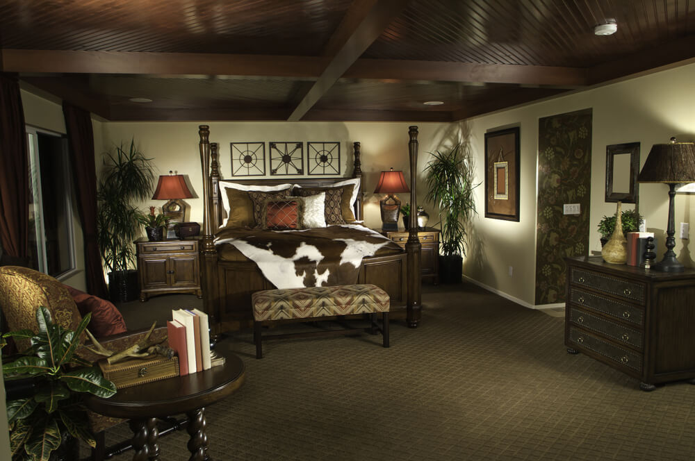 living room dark furniture decorating ideas awkward layout with corner fireplace 138 luxury master bedroom designs photos does modern size include closet space