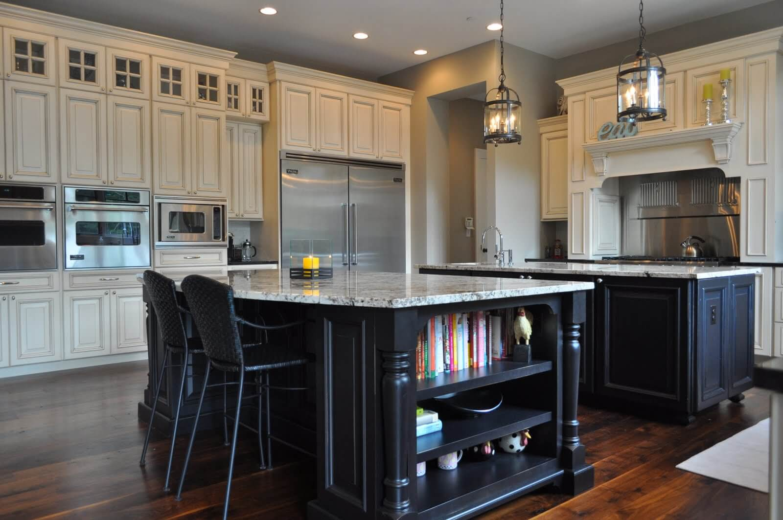 kitchen island chairs foldable cart 124 43 great design and ideas with cabinets islands