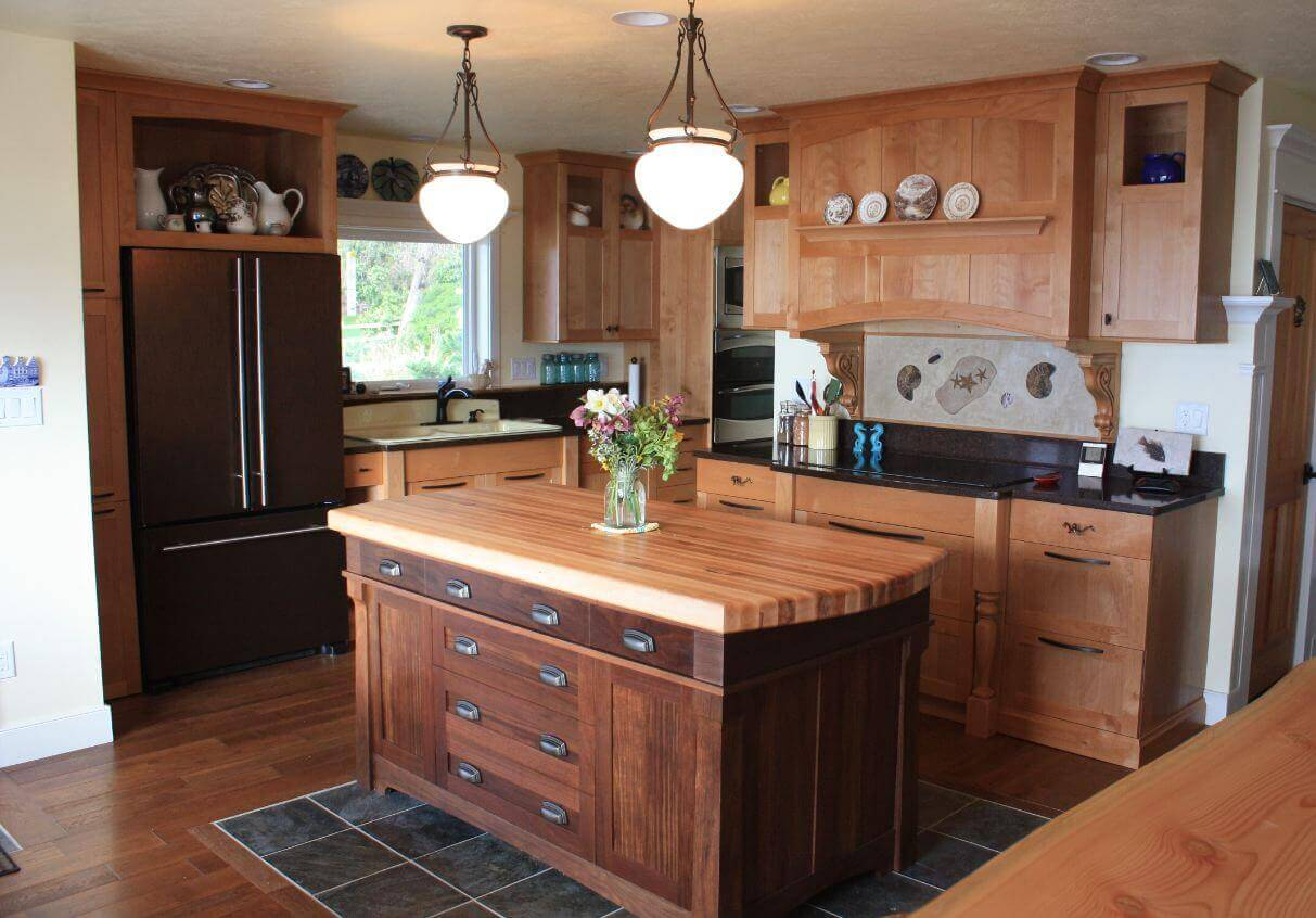 butcher block top kitchen island home remodeling 68 43deluxe custom ideas jaw dropping designs