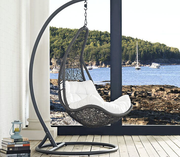 25 Cool Swinging Chairs for the Bedroom   Home Dedicated