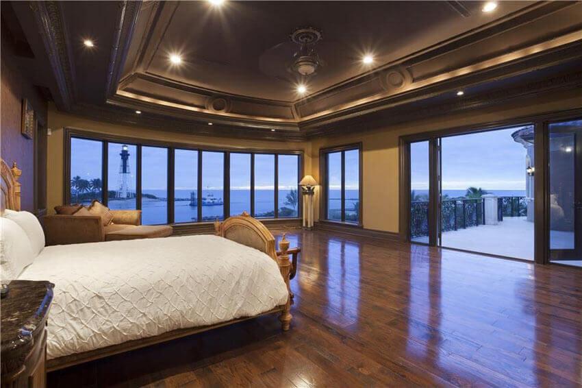 dark oak floor living room furniture arrangement ideas for rectangular 23+ beautiful bedrooms with wood floors (pictures ...