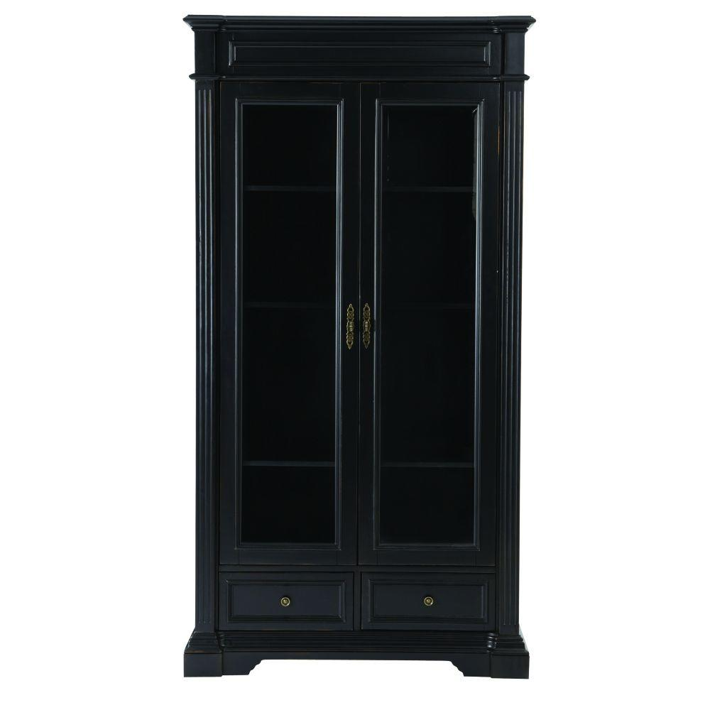 Home Decorators Collection Oxford Black Glass Door