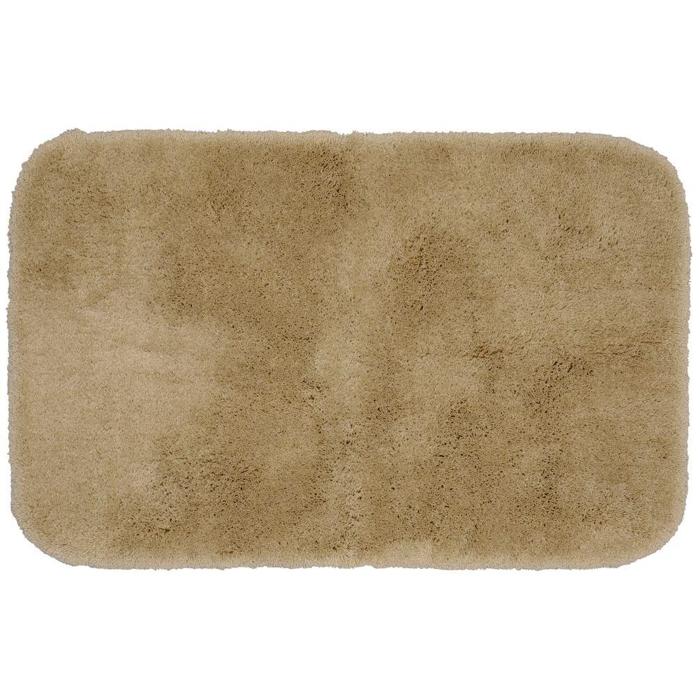 Garland Rug Finest Luxury Taupe 24 In X 40 In Washable