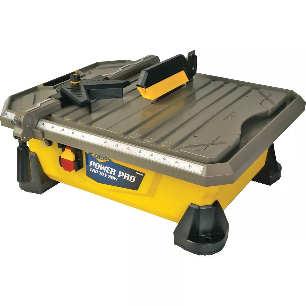 mini tile saw rental the home depot