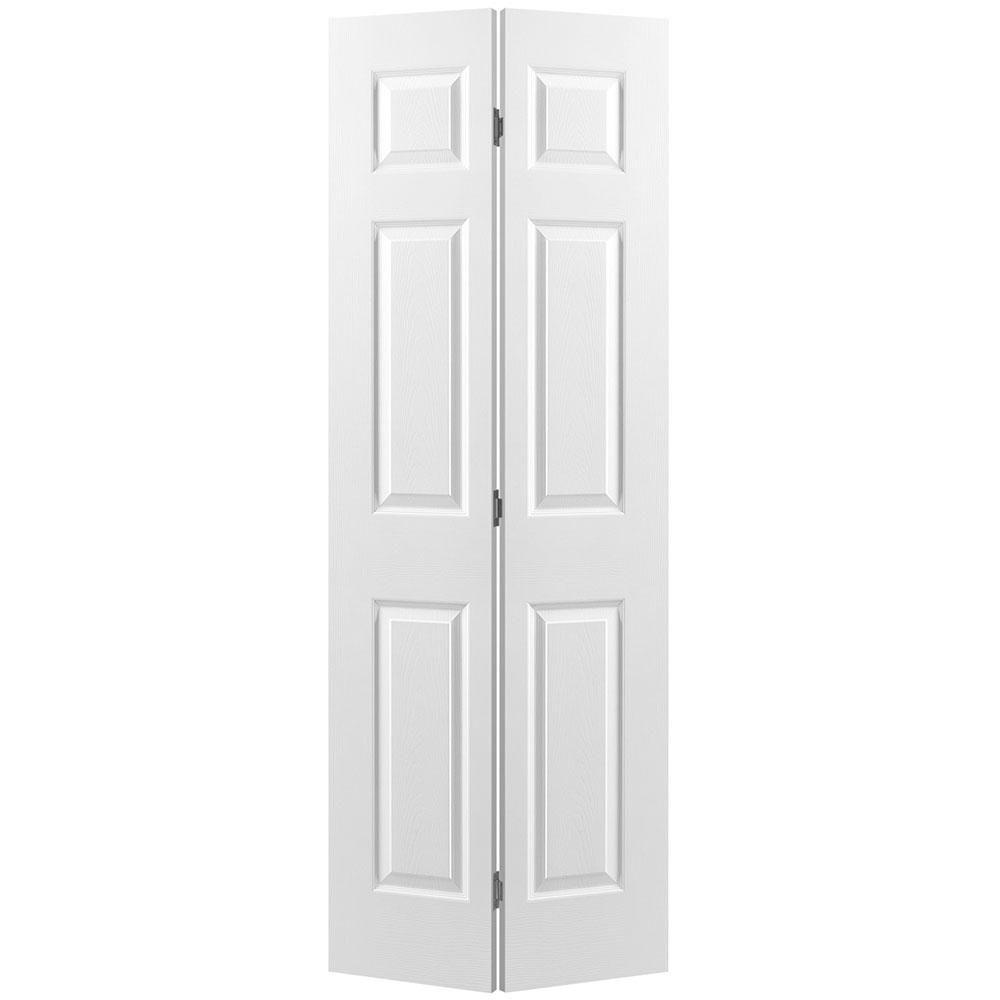 30 inch x 80 inch 6 panel bifold door