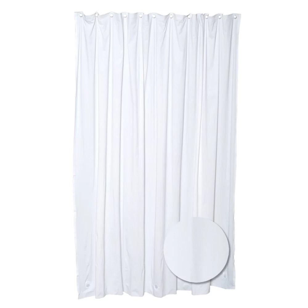 rideau de douche epais blanc